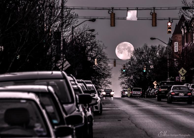 Rush Hour Moon