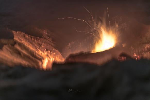 fire on the beach wm