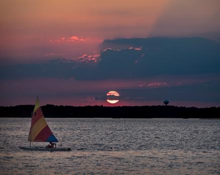 sailboat sunset 2