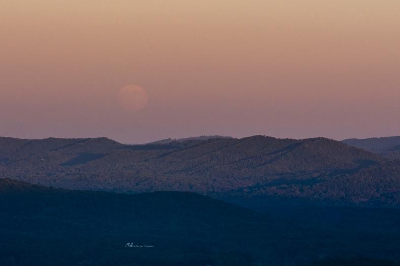 moon sunset 2