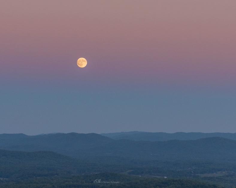 moon sunset 3